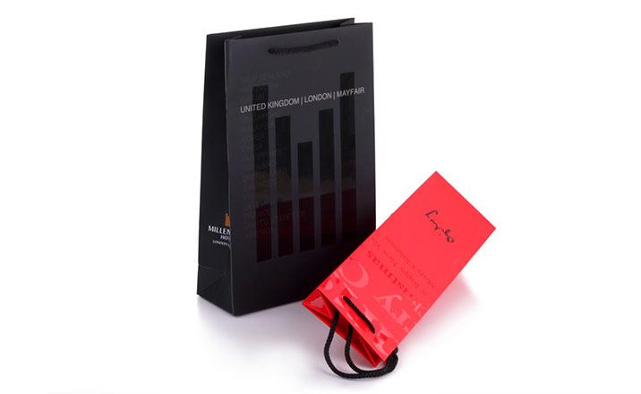Луксозни опаковки - Рекламни торби 02