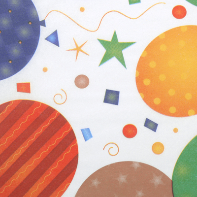 Луксозни опаковки - Festive baloons