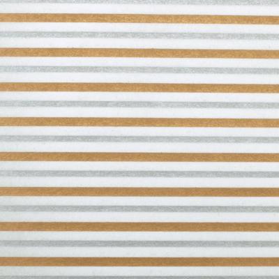 Луксозни опаковки - Gold silver stripes