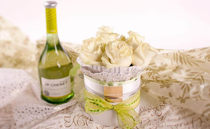 Луксозни опаковки - Кутия за рози 01