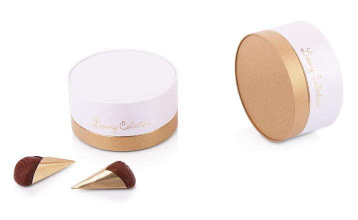 Луксозни опаковки - Кутия за бонбони и шоколад 01