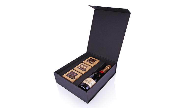 Луксозни опаковки - Кутия за бутилки 02