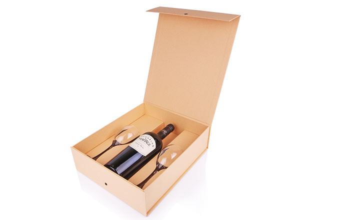 Луксозни опаковки - Кутия за бутилки 03