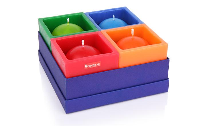 Луксозни опаковки - Кутия за свещи 02