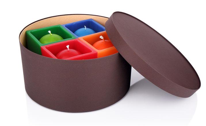 Луксозни опаковки - Кутия за свещи 03