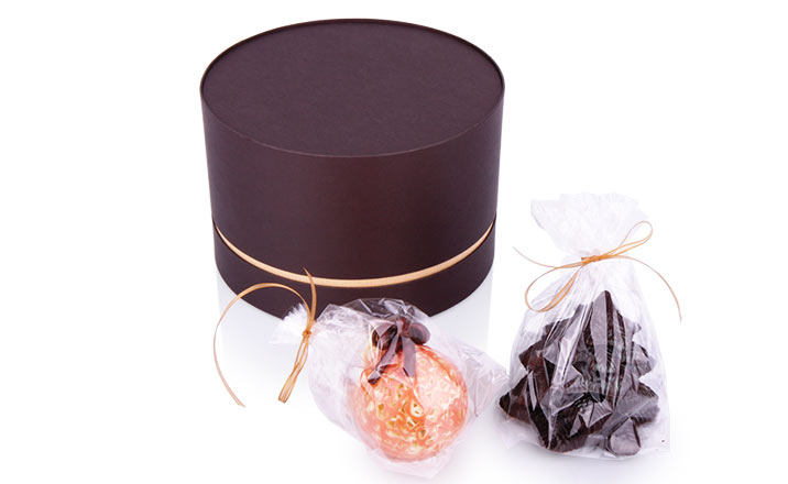 Луксозни опаковки - Тубус за бонбони и шоколад 03