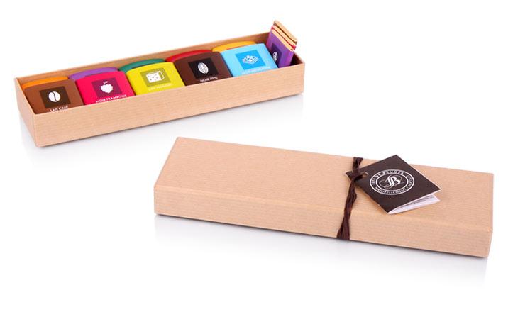 Луксозни опаковки - Кутия за бонбони и шоколад 10