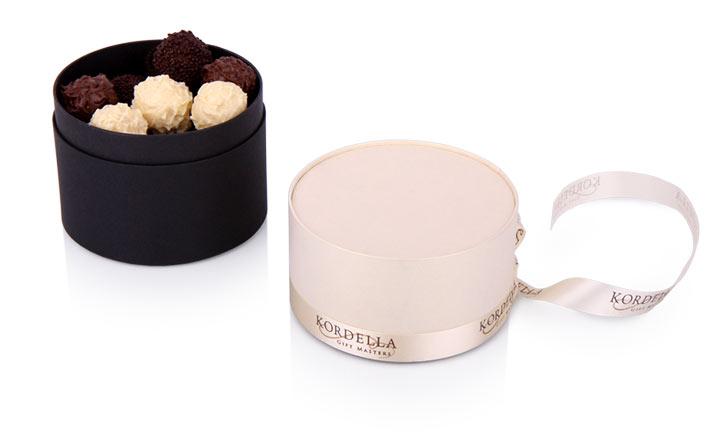 Луксозни опаковки - Тубус за бонбони и шоколад