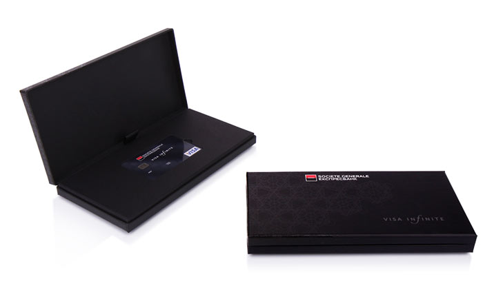 Луксозни опаковки - Кутия за кредитни карти 01