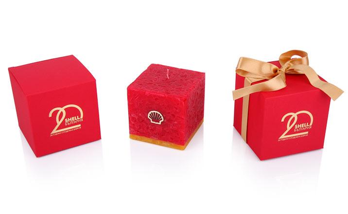 Луксозни опаковки - Кутия за свещи 15