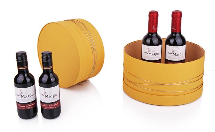 Луксозни опаковки - Тубус за бутилки 05