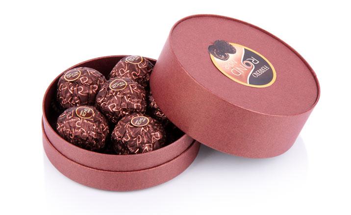 Луксозни опаковки - Тубус за бонбони и шоколад 05
