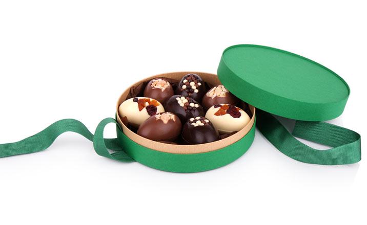 Луксозни опаковки - Кутия за бонбони и шоколад 23