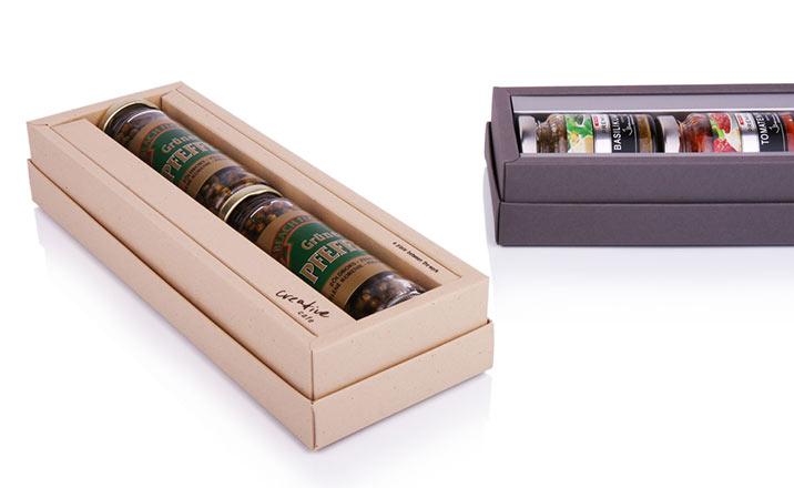 Луксозни опаковки - Кутия за гурме 06