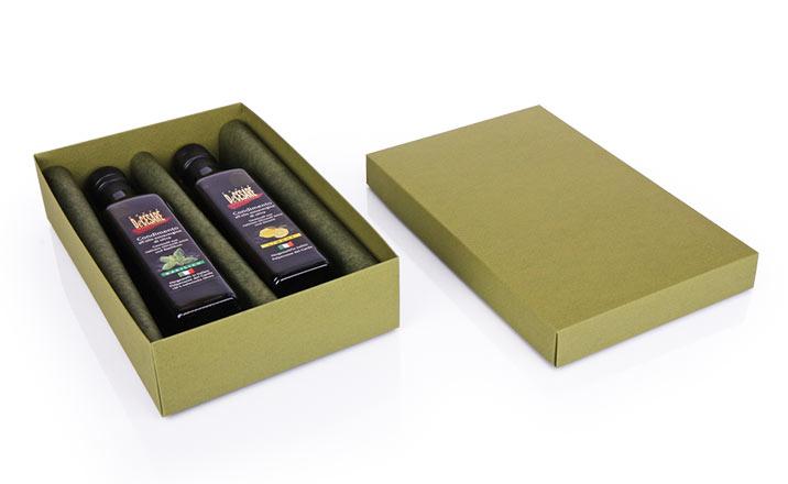 Луксозни опаковки - Кутия за бутилки 08