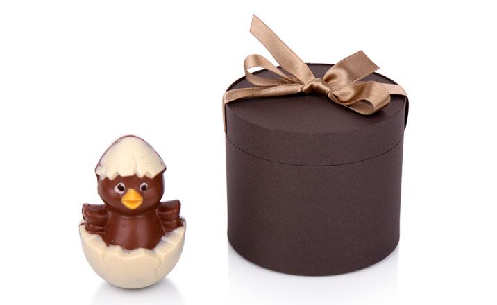 Луксозни опаковки - Тубус с панделка за бонбони и шоколад