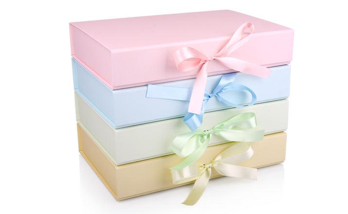 Луксозни опаковки - Кутия за бебешки аксесоари 02