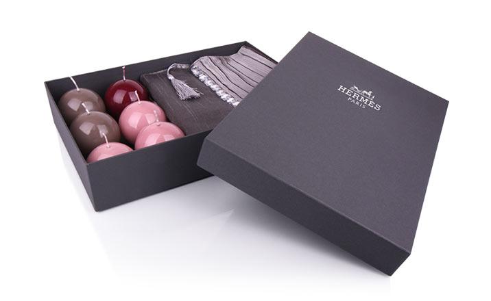 Луксозни опаковки - Кутия за текстил 01