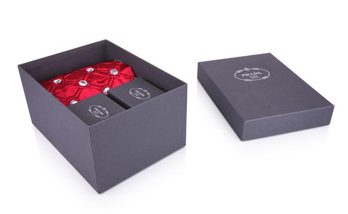 Луксозни опаковки - Кутия за текстил 02