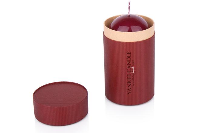 Луксозни опаковки - Тубус за свещи 10