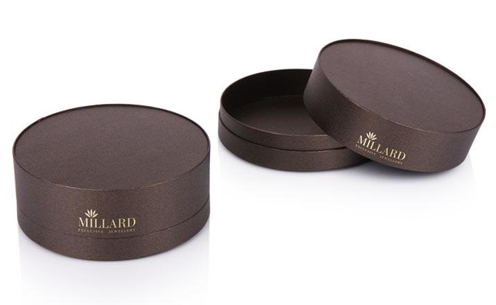 Луксозни опаковки - Тубус за бижута и часовници 06