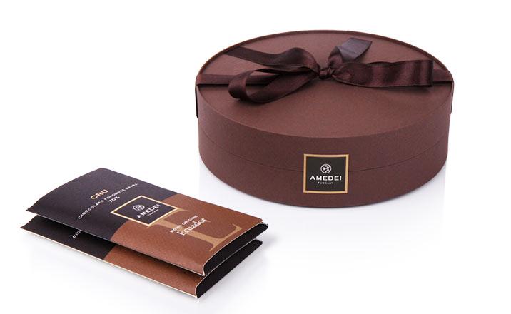Луксозни опаковки - Кутия за бонбони и шоколад 45
