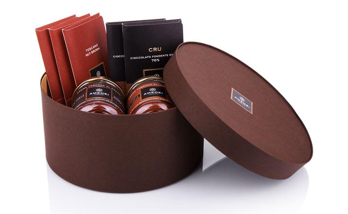 Луксозни опаковки - Кутия за бонбони и шоколад 46