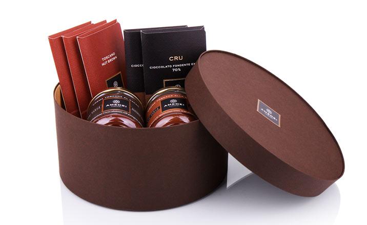 Луксозни опаковки - Кутия за гурме 10