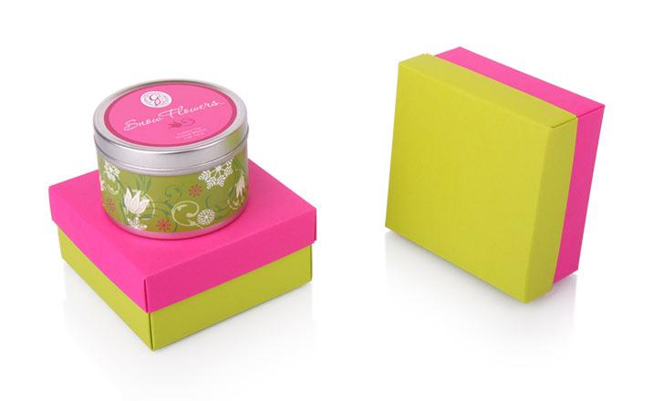 Луксозни опаковки - Кутия за свещи 19
