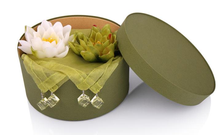 Луксозни опаковки - Кутия за свещи 20