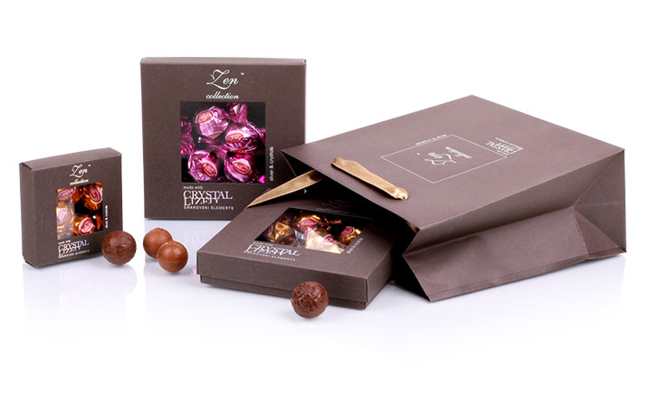 Луксозни опаковки - Кутия за бонбони и шоколад 29