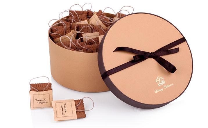 Луксозни опаковки - Кутия за бонбони и шоколад 31