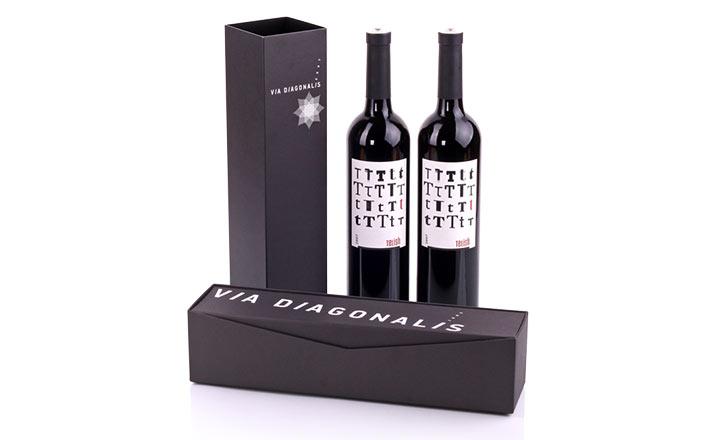 Луксозни опаковки - Кутия за бутилки 15