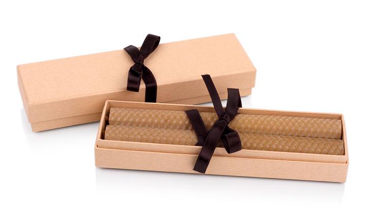 Луксозни опаковки - Кутия за свещи 09