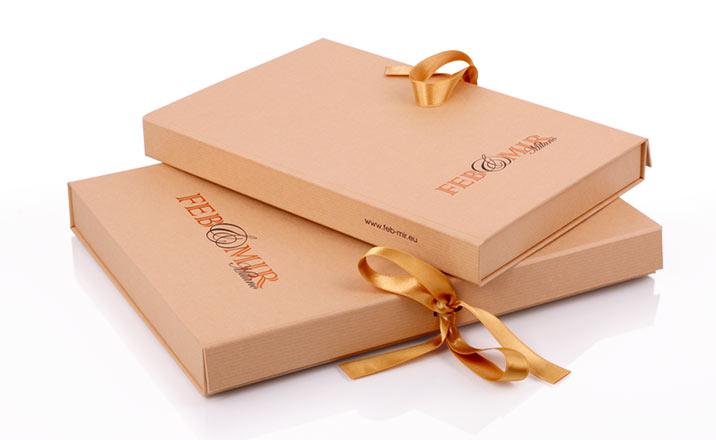 Луксозни опаковки - Кутия за книги 06