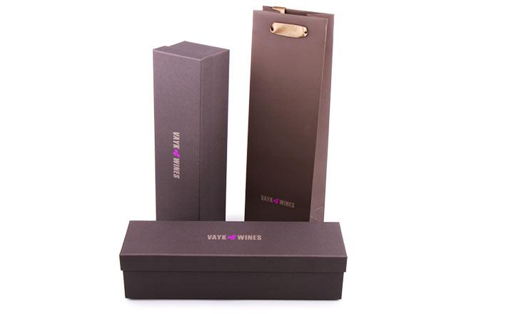 Луксозни опаковки - Кутия за бутилки 23