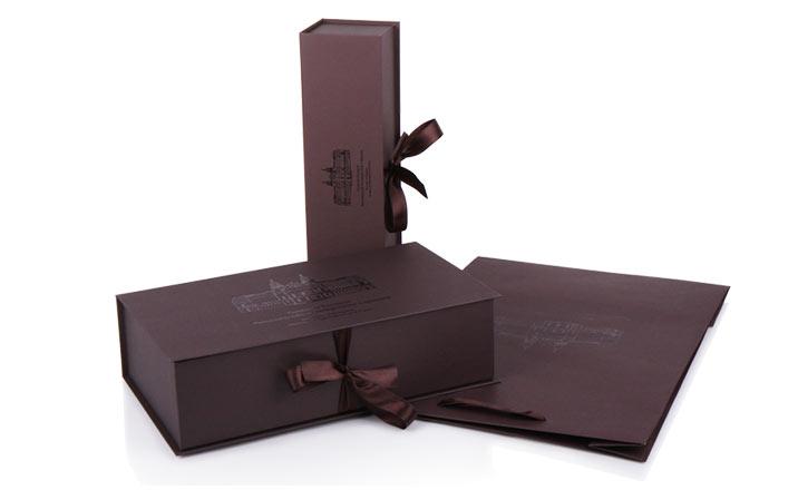 Луксозни опаковки - Кутия за бутилки 24