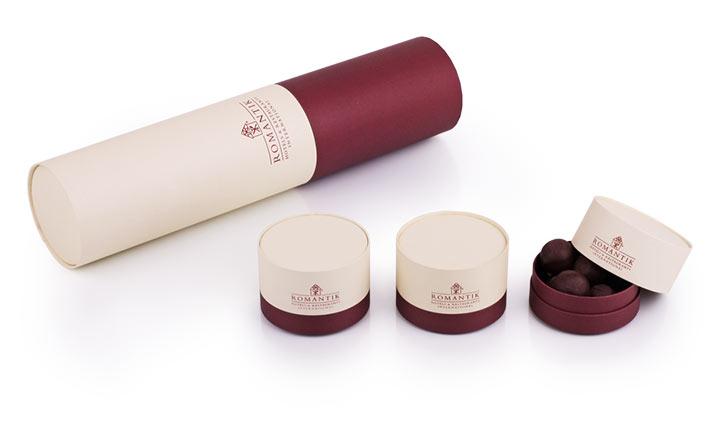 Луксозни опаковки - Тубус за бутилки 08