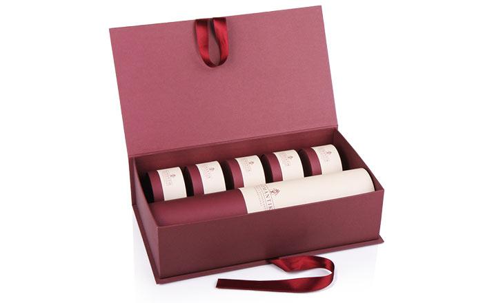 Луксозни опаковки - Тубус за бутилки 12