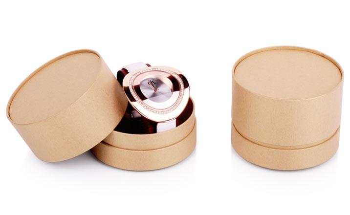 Луксозни опаковки - Тубус за бижута и часовници