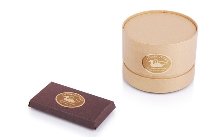 Луксозни опаковки - Тубус за хотели и СПА 02
