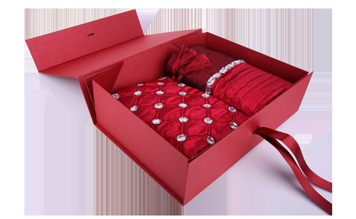Луксозни опаковки - Кутия за текстил 03