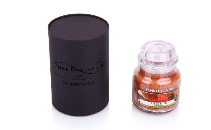 Луксозни опаковки - Тубус за свещи 08