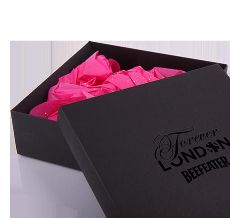Луксозни опаковки - Квадратни сгъваеми